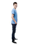 Full length of young man looking to camera Stock Photos