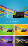 Full of life background. Colored graphic elements, Full of life art background Royalty Free Stock Image