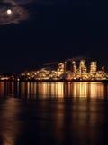 full lights moon Στοκ εικόνα με δικαίωμα ελεύθερης χρήσης