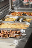 Full lunch service station Stock Photography