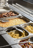 Full lunch service station Royalty Free Stock Images