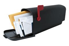 Full Mailbox royalty free stock image