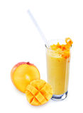 Full mango and mango lassi Stock Photo