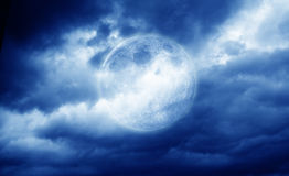 The full moon Royalty Free Stock Photo