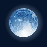 Full Moon. Illustration of full moon on night sky Royalty Free Stock Photography