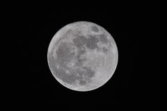 FULL MOON stock image
