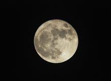 Full moon. Beautiful full moon at night stock photos