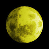 Full moon. Vector art of the Full moon in the sky Stock Images