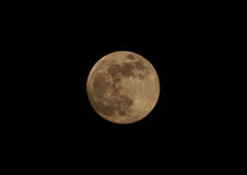 Full Moon. Night shot of full Moon phase Royalty Free Stock Photography
