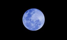 Full moon. At night time stock images