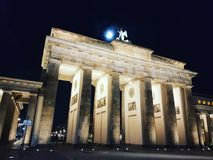 Full moon in Berlin royalty free stock photos