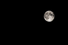 The full Moon Royalty Free Stock Photography