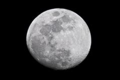 Full moon in black and white Royalty Free Stock Photos