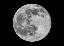 Full Moon Closeup Royalty Free Stock Photo