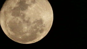 Full moon with cloud stock video footage
