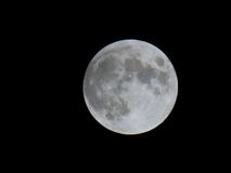 Full moon before the eclipse Royalty Free Stock Photo