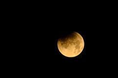 Full Moon Eclipse Stock Images