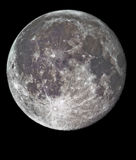Full moon in high detail Stock Photo