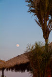 Full Moon in Ilha do Amor Royalty Free Stock Photography