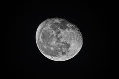 Almost full moon Stock Photography