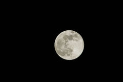 Full Moon at 560mm Royalty Free Stock Photos
