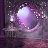 Full moon night royalty free illustration