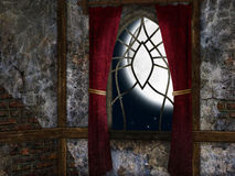 Full moon night Royalty Free Stock Image