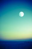 Full Moon Ocean Stock Photography