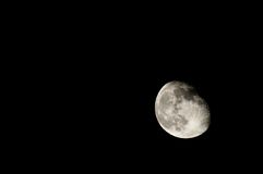 Almost Full Moon Royalty Free Stock Photography