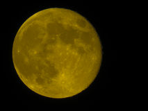 Full moon over westcovina Royalty Free Stock Image