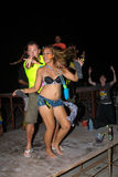 Full moon party in Koh Phangan , Thailand Stock Photography