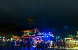 Full moon party at Koh Phangan Stock Images
