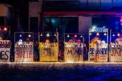 Full moon party at Koh Phangan Stock Photos