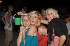 FULL moon party in Phangan, Thailand. Royalty Free Stock Images