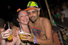 Full moon party, Thailand Royalty Free Stock Photography