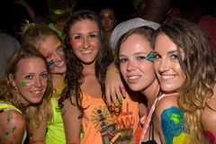 Full moon party, Thailand Stock Image