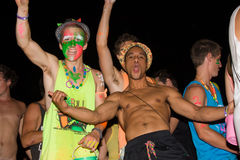Full moon party, Thailand Stock Photography