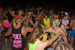 Full moon party, Thailand Royalty Free Stock Images