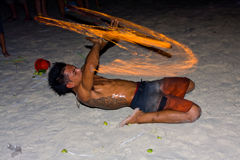 Full moon party, Thailand Stock Photos