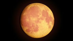 Full moon with phases stock footage