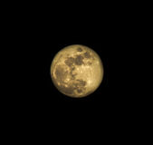 Full Moon. A photo with a full moon Stock Image