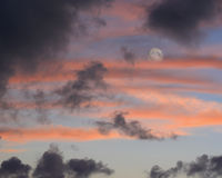 Free Full Moon Rising At Dusk Stock Photo - 21508250
