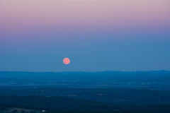 Full Moon Rising Royalty Free Stock Photo