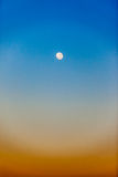 Full Moon Sky Colors Vertical Royalty Free Stock Image