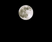 Full Moon Spring Equinox 2005 Stock Images