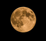 Full Moon, taken on 10 August 2014 Stock Photography