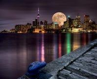 Full Moon Toronto Royalty Free Stock Photography