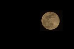 Full Moon in Uganda. A full Moon seen from Uganda royalty free stock photos