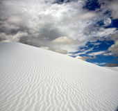 Full moon at White Sands Royalty Free Stock Photos