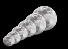 Full moons Royalty Free Stock Photos